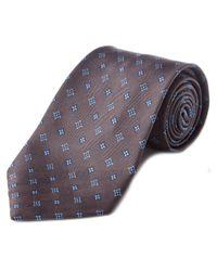 Louis Vuitton - Purple Silk Tie for Men - Lyst