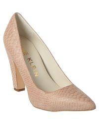 Anne Klein - Multicolor Hollyn Suede Pump - Lyst