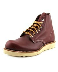 "Red Wing - Classic Work 6"" Men Round Toe Leather Brown Work Boot for Men - Lyst"