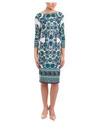 Eliza J | Green Sheath Dress | Lyst