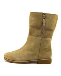 Kate Spade - Natural Baja Women Round Toe Synthetic Nude Winter Boot - Lyst