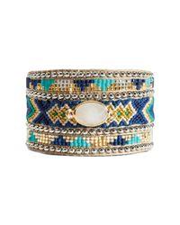 Hipanema - Blue Summer Crystal Bracelet - Lyst