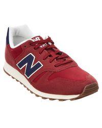 New Balance - Red Men's Lifestyle Modern Classics Sneaker for Men - Lyst