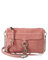 Rebecca Minkoff - Multicolor Mini Mac Leather Crossbody - Lyst