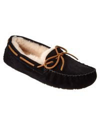 1fa4da311 Lyst - Ugg Women s Dakota Water-resistant Suede Moccasin in Black