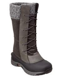 Baffin - Gray Women's Dana Leather Boot - Lyst