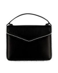 Les Petits Joueurs - Women's Black Leather Handbag - Lyst