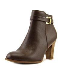 Giani Bernini - Brown Womens Baari Leather Closed Toe Ankle Fashion Boots Fashion Boots - Lyst