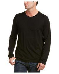 J Brand - Black Zeta Wool-blend Top for Men - Lyst