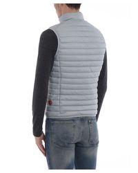 Save The Duck - Gray Men's Grey Polyamide Vest for Men - Lyst