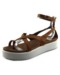 J/Slides - Natural St. Vincent Women Open Toe Synthetic Platform Sandal - Lyst