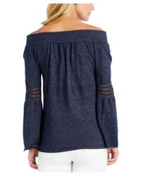 J.McLaughlin - Blue Sweater - Lyst