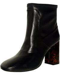 Charles David - Black Womens Trudy Square Toe Ankle Fashion Boots Fashion Boots - Lyst