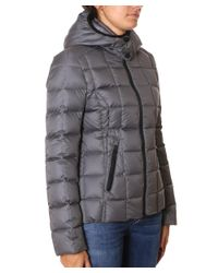 Rossignol - Gray Women's Grey Polyester Down Jacket - Lyst