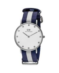 Daniel Wellington - White Women's Glasgow (dw00100082) Watch - Lyst