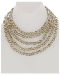 Sparkling Sage - Metallic 14k Plated Resin Necklace - Lyst