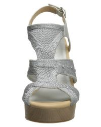 Lucky Brand - Metallic Lucky Women's Rosiee Platform Wedge Sandals - Lyst