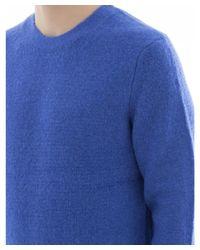 Rag & Bone - Men's Blue Wool Sweater for Men - Lyst