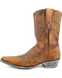 """Old Gringo - Marcelina Stitch 10"""" Men Pointed Toe Leather Brown Western Boot for Men - Lyst"""