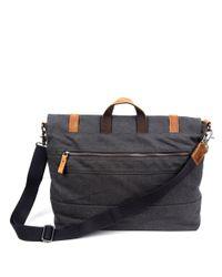 The Same Direction - Gray Excursion Messenger Bag for Men - Lyst