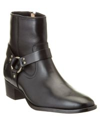 Frye - Black Women's Dara Harness Leather Boot - Lyst