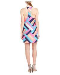 Alice & Trixie - Pink Silk Shift Dress - Lyst