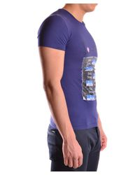 John Galliano - Men's Purple Cotton T-shirt for Men - Lyst