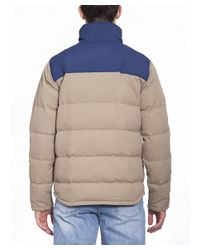 Patagonia - Brown Men's Beige Polyester Outerwear Jacket for Men - Lyst