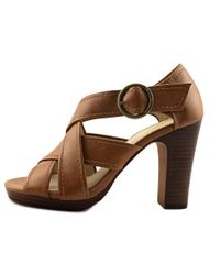Seychelles - Brown Route Men Open Toe Leather Tan Sandals - Lyst