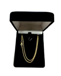 JewelryAffairs - 14k Yellow Gold Forsantina Chain Necklace, 1.9mm, 20 Inch - Lyst