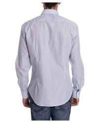 Aspesi - Men's Light Blue Cotton Shirt for Men - Lyst