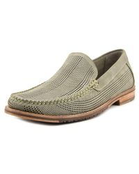 Tommy Bahama - Felton Men Round Toe Leather Gray Loafer for Men - Lyst