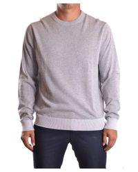 Michael Kors   Gray Men's Mcbi208042o Grey Polyamide Sweater for Men   Lyst