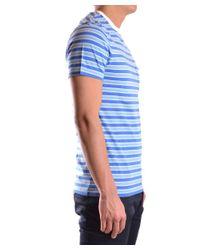 Marc Jacobs | Men's Mcbi198009o Blue Cotton T-shirt for Men | Lyst