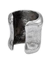 Uno De 50 - Metallic Unode50 Snoorkel Silver Plated Earcuff - Lyst