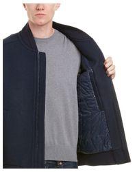 Marc New York - Blue Foch Wool-blend Coat for Men - Lyst