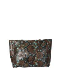 Cashhimi - Brown Little Rock Leather Shoulder Bag - Lyst