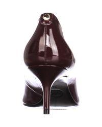 Michael Kors - Purple Michael Mk Flex Kitten Pointed-toe Pumps - Plum - Lyst