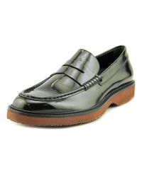Hogan - Black H217 Route Mocassino Round Toe Patent Leather Loafer for Men - Lyst