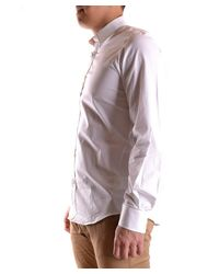 DSquared² - Men's Mcbi107205o White Cotton Shirt for Men - Lyst