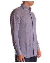 Ballantyne - Men's Mcbi032025o Blue Linen Shirt for Men - Lyst