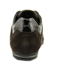 Tod's - Brown Allacciato Active T-project Leggero Round Toe Suede Tennis Shoe for Men - Lyst
