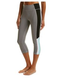 Trina Turk | Gray Reaction Colorblock High-waist Legging | Lyst
