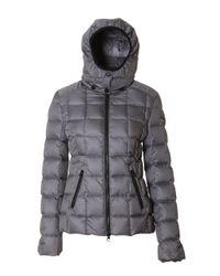 Rossignol - Gray Women's Grey Polyester Down Jacket - Lyst