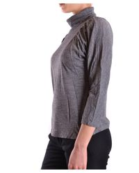 See By Chloé - Gray Women's Grey Viscose Jumper - Lyst