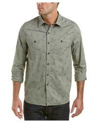 Michael Bastian - Green Gray Label Woven Shirt for Men - Lyst