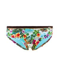 Banana Moon - Blue Bikini Shorts Keebeach Kea Turquoise - Lyst