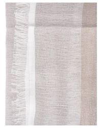 Fabiana Filippi - Gray Women's Grey/brown Silk Foulard - Lyst