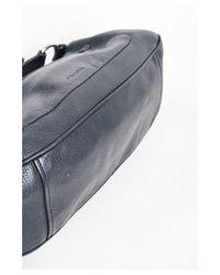 5b992ecefd8b Lyst - Prada 1 Black Pebble Leather Zip Front Pocket Shoulder ...