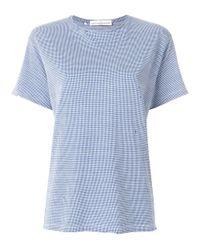 Golden Goose Deluxe Brand - Women's Blue Cotton T-shirt - Lyst